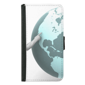 Business Expansion into North America Continent Wallet Phone Case For Samsung Galaxy S5