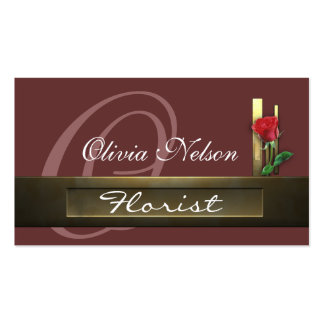 business_florist Double-Sided standard business cards (Pack of 100)