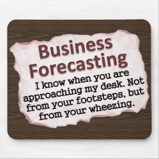 Business Forecasting Mouse Pad