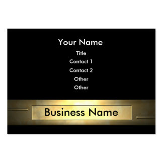 Business Gold Business Cards