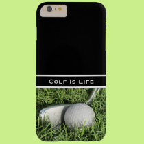 Business Golf Theme Barely There iPhone 6 Plus Case