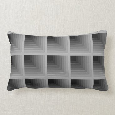 Professional Business Business gray monochrome lumbar pillow