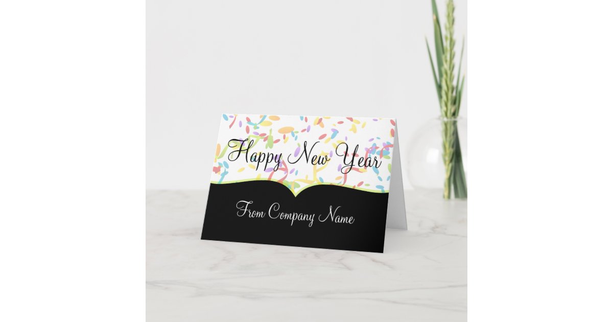 business happy new year cards zazzlecom
