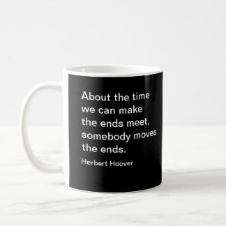 Business Herbert Hoover Quote Classic White Coffee Mug