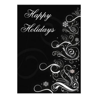 Business Holiday Greetings Invites