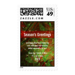 Business Holiday Season Promotional Postage Stamp