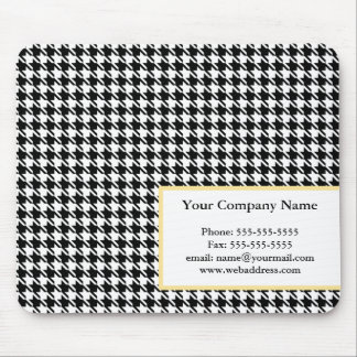Business Houndstooth Mousepad