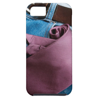 Business in jeans iPhone SE/5/5s case