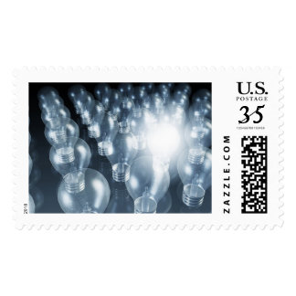 Business Innovation in Sales and Marketing Art Postage