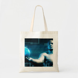 Business Intelligence with Data Abstract Tote Bag