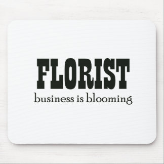 Business is Blooming Mouse Pad