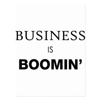 Business is Boomin.png Postcard