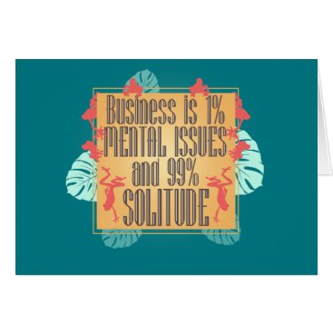 Professional Business Business Is Card