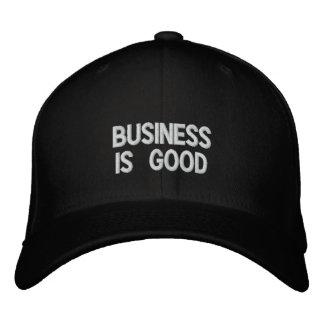 Business Is Good hat. Promote a positive attitude! Cap