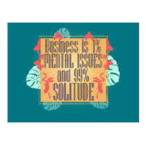 Business Is Postcard