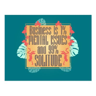 Professional Business Business Is Postcard