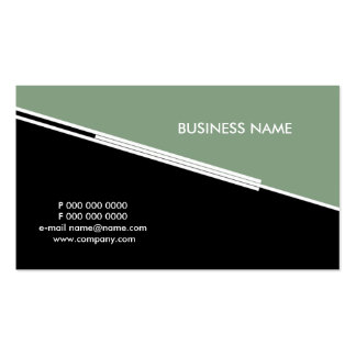 business_lines Double-Sided standard business cards (Pack of 100)