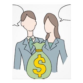 Business Loan People Letterhead