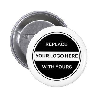 Business Logo Button Pins
