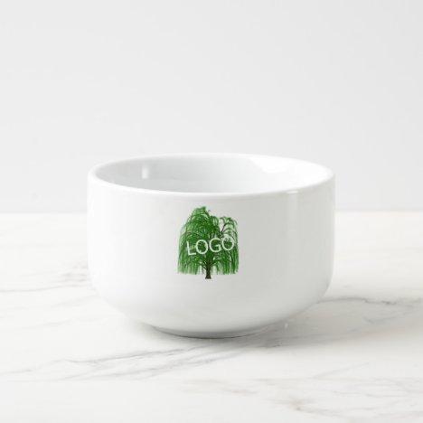 Business Logo Company Soup Mug