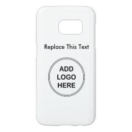 Business Logo Galaxy S7 Case