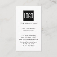 Business Logo | Professional Simple Business Card