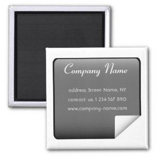 Business Magnet Design - Black