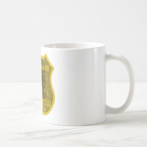 Business Major Caffeine Addiction League Classic White Coffee Mug