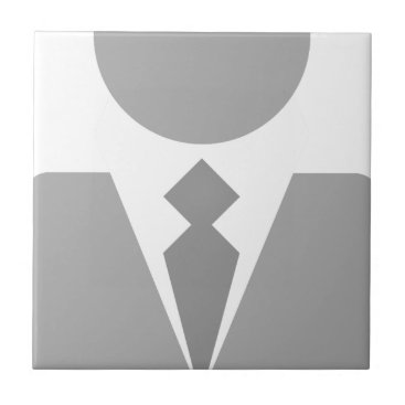 Business Man Ceramic Tile