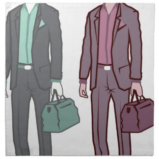 Business Man Cloth Napkin