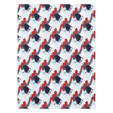 Professional Business Business Man on Bull Profit Concept Tablecloth