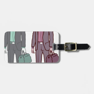 Business Man Tag For Luggage