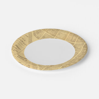 Business Map of San Francisco Paper Plate