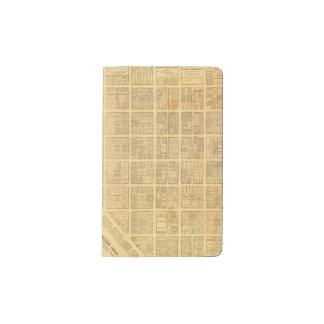 Business Map of San Francisco Pocket Moleskine Notebook