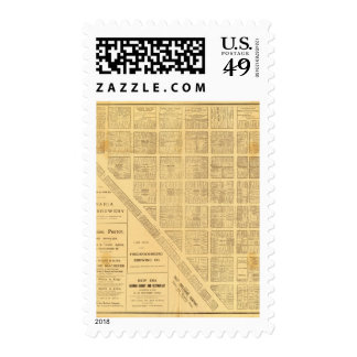 Business Map of San Francisco Stamp