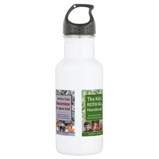 Business Marketing Ideas Author Book Promotion 18oz Water Bottle