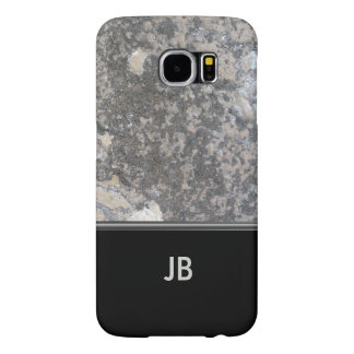 Business Mens Monogram Samsung Galaxy S6 Case
