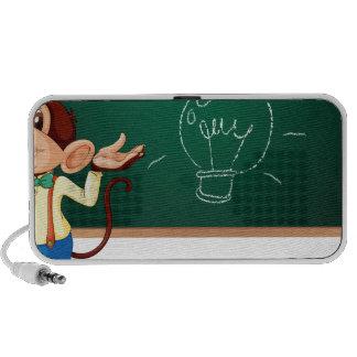 Business monkey and board mini speaker