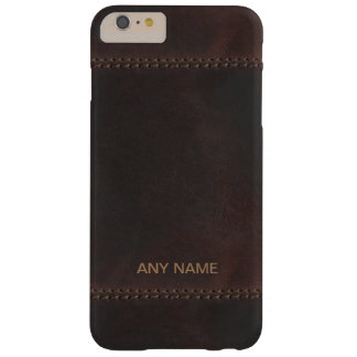 Business Monogram Barely There iPhone 6 Plus Case