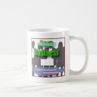 Business Classic White Coffee Mug