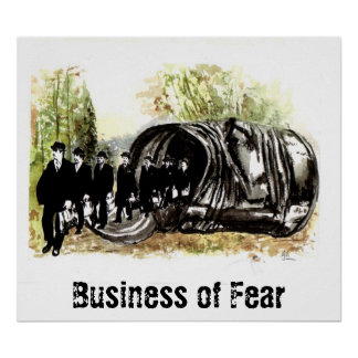 Business of Fear Poster