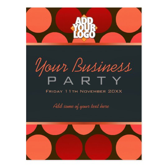 Business Office Workshop Party Invitation Template Postcard | Zazzle