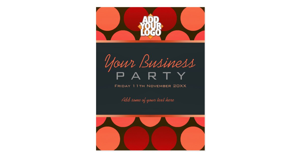 Business Office Workshop Party Invitation template Postcard – Oath of Office Template