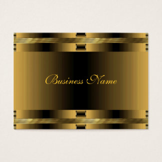 Business Old Gold Art Deco Business Card
