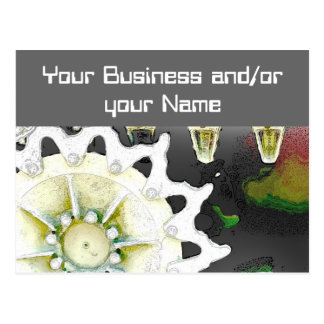 Business opening postcard
