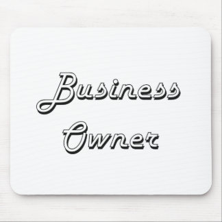 Business Owner Classic Job Design Mouse Pad