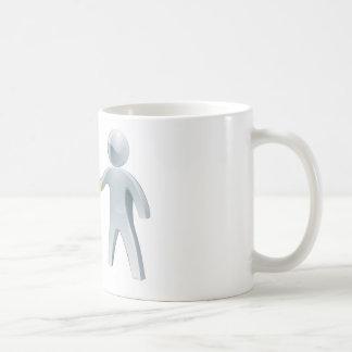 Business partnership concept classic white coffee mug