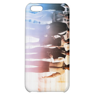 Business People Background as a Group Smiling iPhone 5C Cases