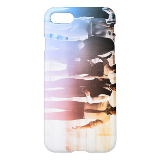 Business People Background as a Group Smiling iPhone 7 Case
