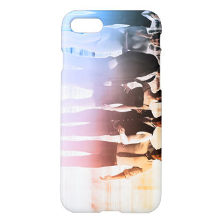 Business People Background as a Group Smiling iPhone 8/7 Case
